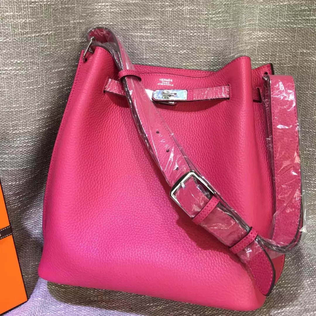 Hermes So Kelly 22cm and 26cm togo Bag
