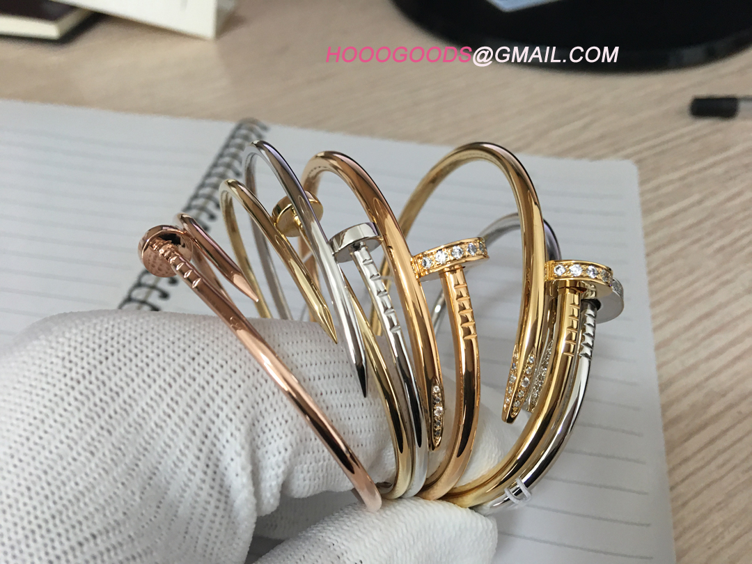 Cartier Nail Bracelet Thin and Thick